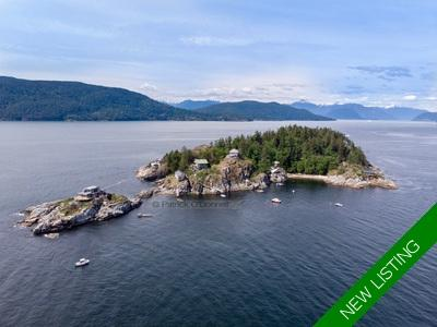 37 Passage Island, Howe Sound land for sale Patrick O'Donnell, Royal LePage Sussex
