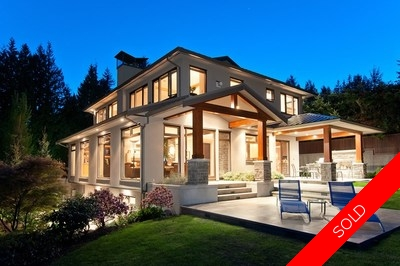 West Vancouver House for Sale:  5 beds, 5 baths, 5,135 sq.ft., stunning VIEWS