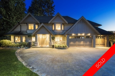 West Vancouver Home for Sale: Spencer Estates, 6 bedrooms 5,203 sq ft, Ocean Views
