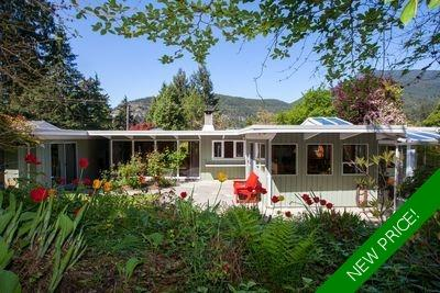 5572 Gallagher Place, Mid Century Modern Eagle Harbour Bungalow for sale: 3 bedroom 2,074 sq.ft. (Listed 2020-02-24)