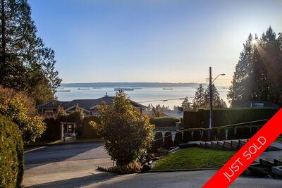 2421 Queens Avenue, West Vancouver home. Ocean views all over the place!